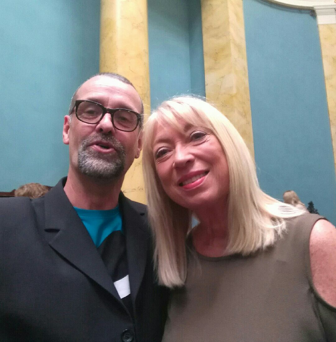Tom Byrne and Anne Doyle