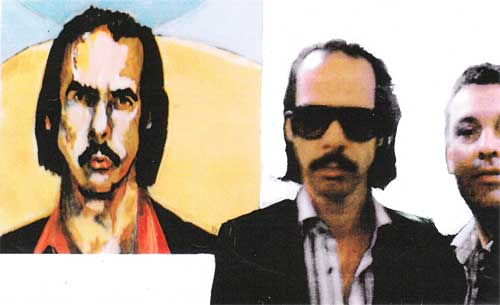Nick Cave and Tom Byrne